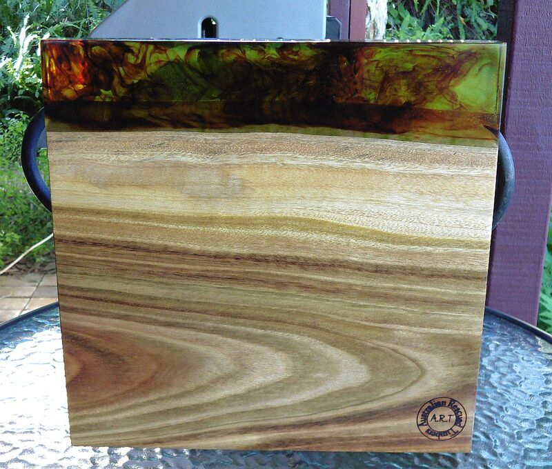 resin timber cutting board